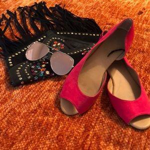 Hot Pink H&M Flats 🎀